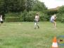 Sportlich aktiv beim Völkerballturnier
